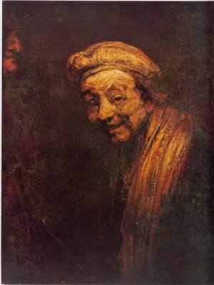 Rembrandt disant adieu au monde des vivants