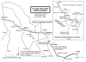 La route que César voulait prendre