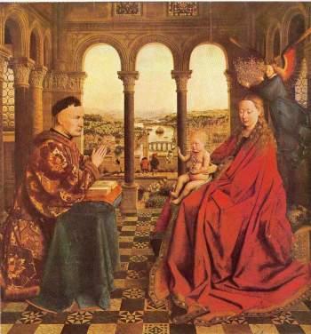 La Vierge au chancelier Rolin
