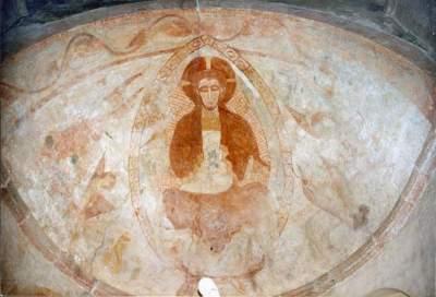 Fresque du Choeur - Gourdon